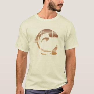 Fensterscheiben-Rottöne T-Shirt