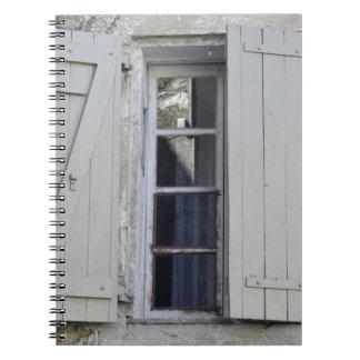 Fenstertür Notizblock
