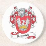 Fenwick Familienwappen Bierdeckel