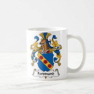Ferdinand-Familienwappen Kaffeetasse