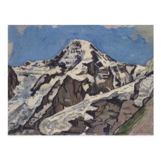 Ferdinand Hodler- der Mönch Postkarte