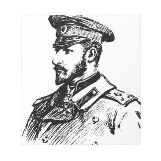 Ferdinand I von Bulgarien Notizblock
