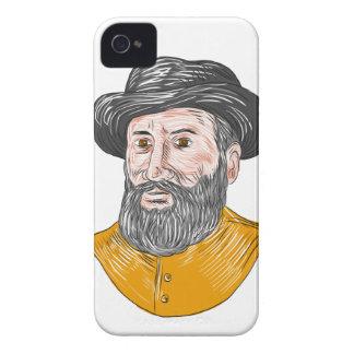 Ferdinand- Magellanfehlschlag-Zeichnen iPhone 4 Case-Mate Hülle