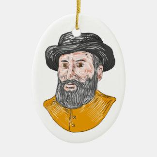 Ferdinand- Magellanfehlschlag-Zeichnen Keramik Ornament