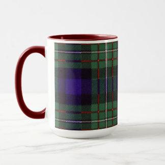 Ferguson-Clan karierter schottischer Tartan Tasse