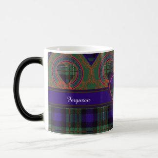 Ferguson-Clan karierter schottischer Tartan Verwandlungstasse