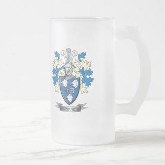 Ferguson-Familienwappen-Wappen Mattglas Bierglas