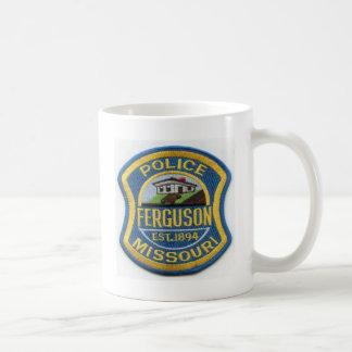 Ferguson-Polizei bessert aus Kaffeetasse
