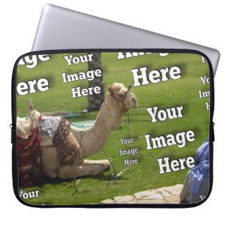 Ferien-Bild-Schablone Laptopschutzhülle