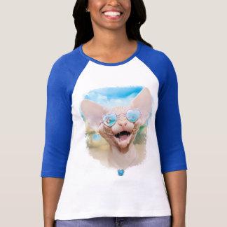 Ferien dating  (Sphinx in der Sonnenbrille) T-Shirt