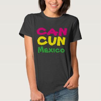 Ferien-Reise-T-Shirt des Cancun Mexiko Tshirts