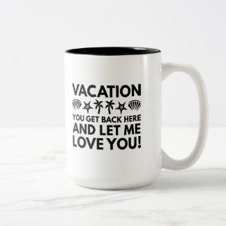 Ferien Zweifarbige Tasse