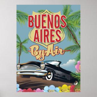 Ferienplakat Buenos Aires, Argentinien Poster