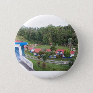Ferienrückzug in Costa Rica Runder Button 5,1 Cm