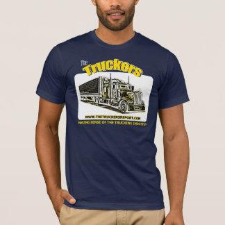 Fernlastfahrer-Berichts-Dunkelheits-T-Shirt T-Shirt