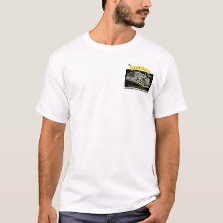 Fernlastfahrer-Berichts-Taschen-T - Shirt