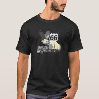Fernlastfahrer des Weg-66 T-Shirt