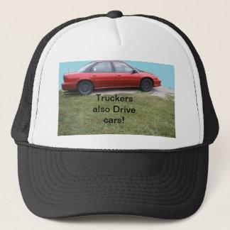 Fernlastfahrer fahren auch Autokappe Truckerkappe