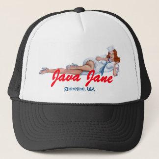 Fernlastfahrer-Hut-Auswahl Java Jane Ihre Farbe Truckerkappe