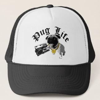 Fernlastfahrer-Hut des Mops-Leben-$17,95 (11 Truckerkappe