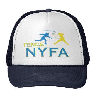 Fernlastfahrer-Hut des Zaun-NYFA Trucker Caps