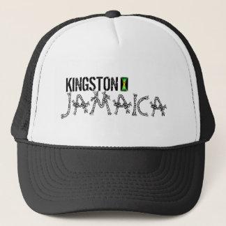 Fernlastfahrer-Hut Kingstons Jamaika Truckerkappe