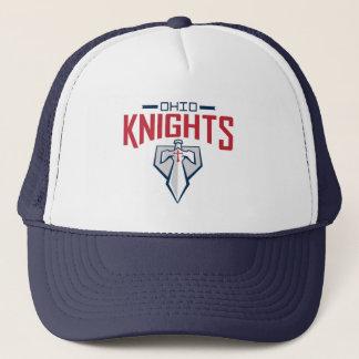 Fernlastfahrer-Hut mit Platten-Logo Truckerkappe