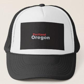 Fernlastfahrer-Hut Portlands, Oregon Truckerkappe