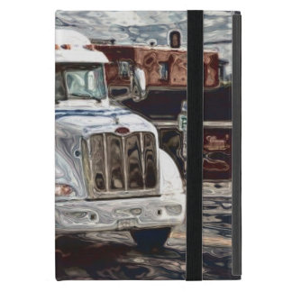 Fernlastfahrer-Lastwagen-Fahrer-schwerer Hülle Fürs iPad Mini