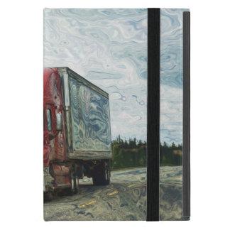 Fernlastfahrer-Lastwagen-Fahrer-schwerer Transport Hülle Fürs iPad Mini