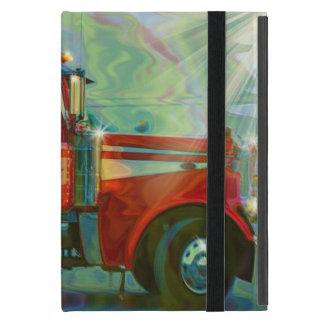 Fernlastfahrer-Lastwagen-Fahrer-schwerer Transport iPad Mini Hüllen