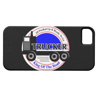 Fernlastfahrer-Neuheits-König Of The Road Graphic iPhone 5 Hülle