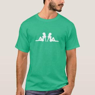 Fernlastfahrer-Schmutzfänger-Mädchen T-Shirt