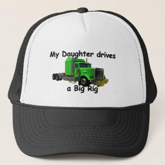 Fernlastfahrer - Teamsters - meine Tochter fährt… Truckerkappe