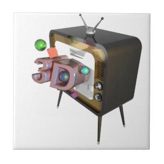 Fernsehen 3D Keramikfliese