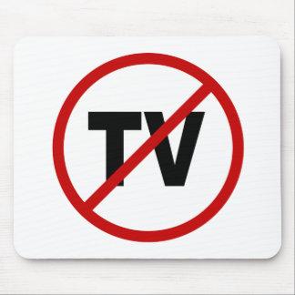 Fernsehen Hass Fernsehen/No Zeichen-Aussage Mousepad