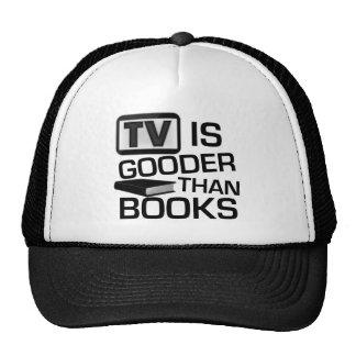 Fernsehen ist Gooder als die lustigen Bücher Netzkappe