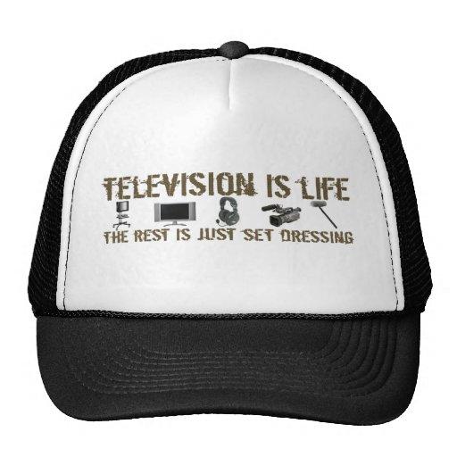 Fernsehen ist Leben Baseballmütze
