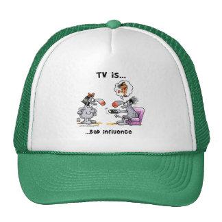 Fernsehen ist… Schlechter Einfluss Retromütze
