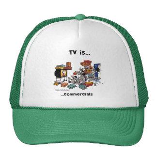 Fernsehen ist… Werbungen Tuckercaps