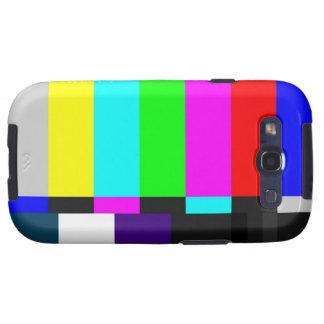 Fernsehen prüfen Kasten Schirm-Samsung-Galaxie-S Samsung Galaxy S3 Etui