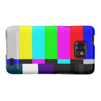 Fernsehen prüfen Kasten Schirm-Samsung-Galaxie-S Samsung Galaxy SII Hülle