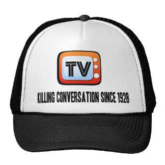 Fernsehen: Tötungs-Gespräch Baseballkappen