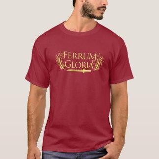 Ferrum und Gloria-Gladiator-T - Shirt