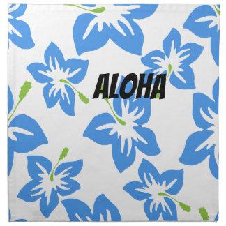 Fertigen Sie coole Hawaii-Blumen besonders an Stoffserviette