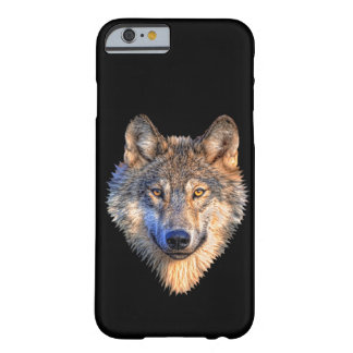 Fertigen Sie coolen Wolf-Kopf besonders an Barely There iPhone 6 Hülle