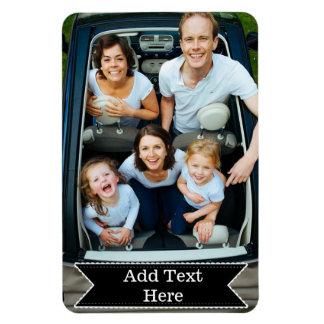Fertigen Sie eine Familie besonders an, Foto-, Magnet