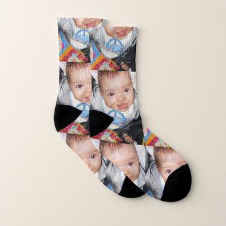 Fertigen Sie es mit Ihrem Fotomuster besonders an Socken