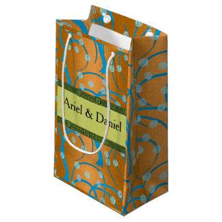 Fertigen Sie Goldjasmin-Prallplatten-Art besonders Kleine Geschenktüte