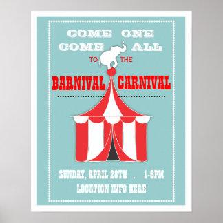 Fertigen Sie Ihr Karnevals-Ereignis-Plakat besonde Poster